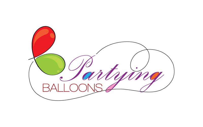 Party & Promotional Balloons Logo Design
