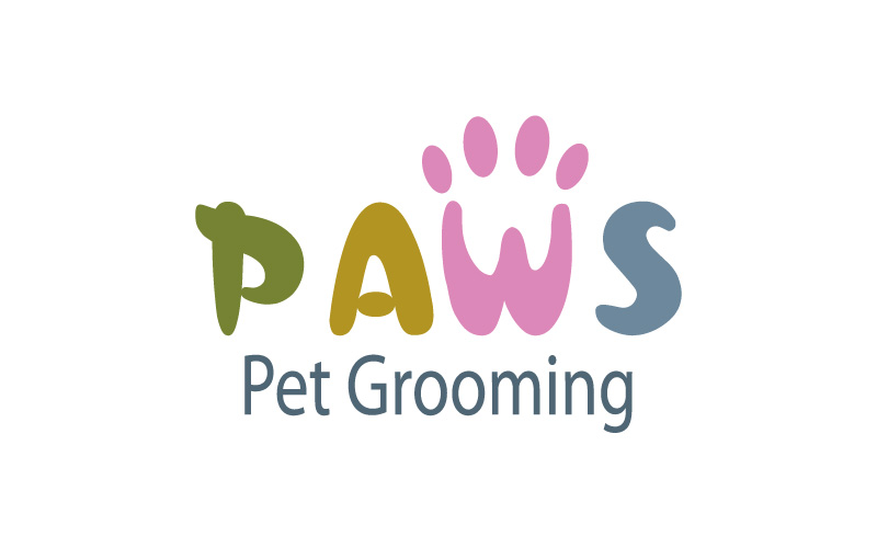 Pet Grooming Logo Design