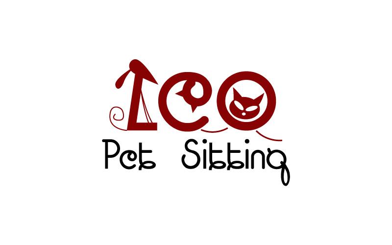 Pet Sitting Logo Design