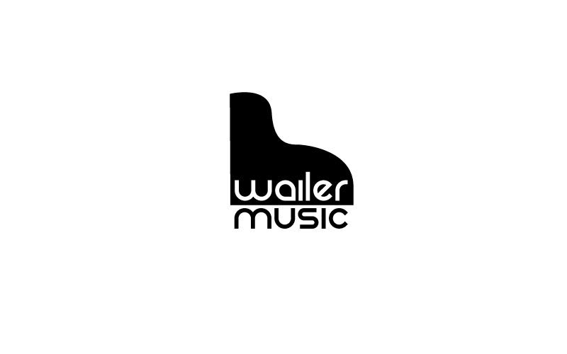 Piano Lessons Logo Design