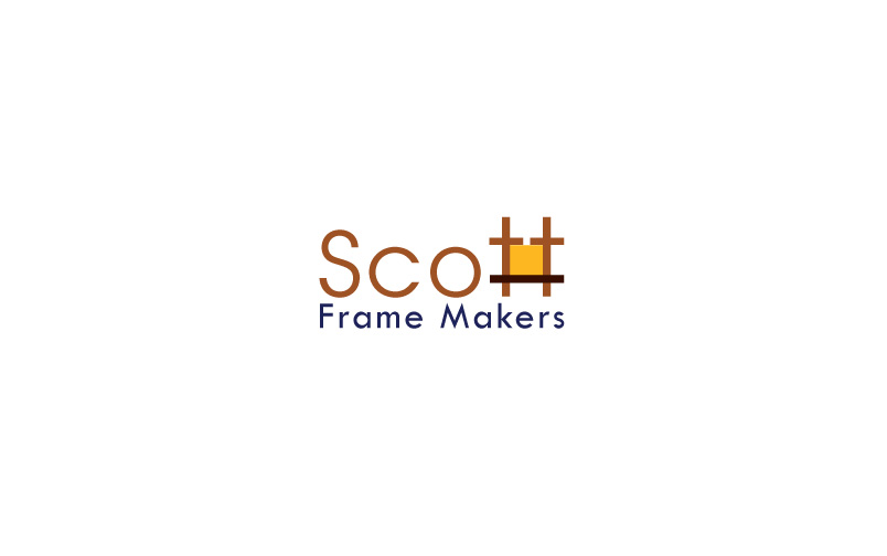 Picture Framers & Frame Makers Logo Design