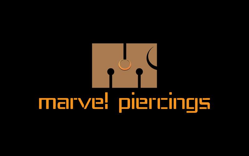 Piercings Logo Design