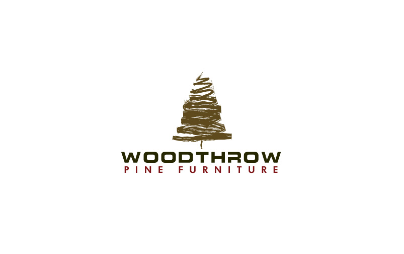 Pine Furniture Logo Design