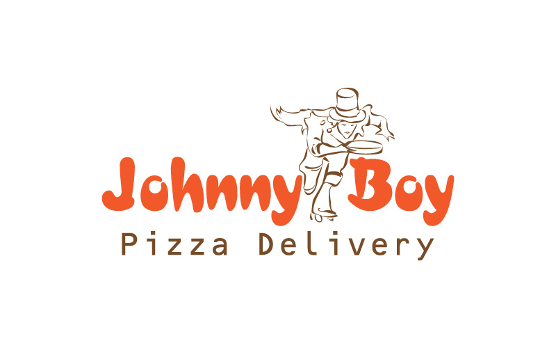 Pizza Delivery Logo Design