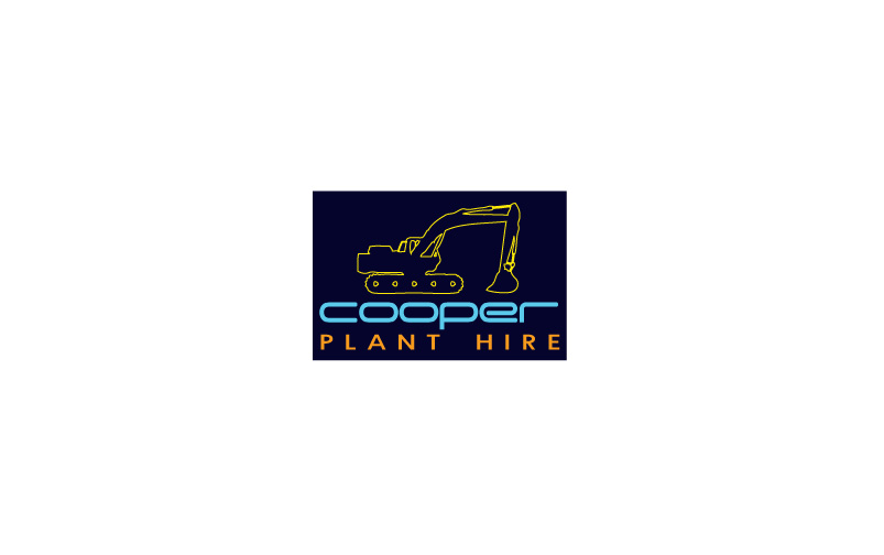 Plant Hire Logo Design