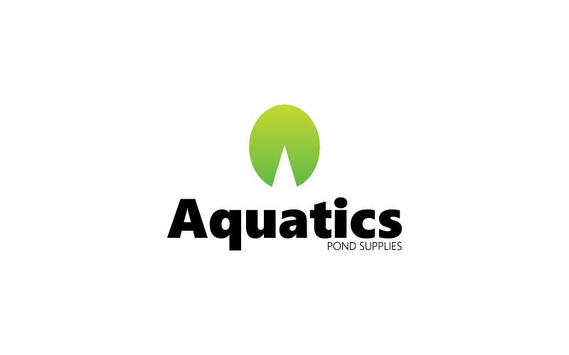 pond supplies logo design