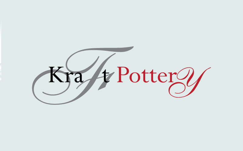 Pottery & Ceramic Cafes Logo Design