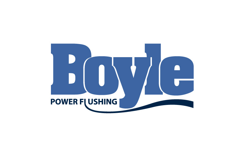 Power Flushing Logo Design