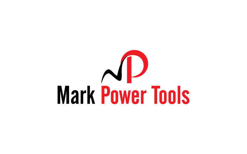 Power Tool Supplies Repairs Logo Design