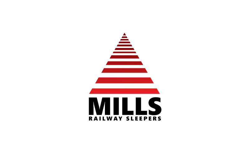 Railway Sleepers Logo Design