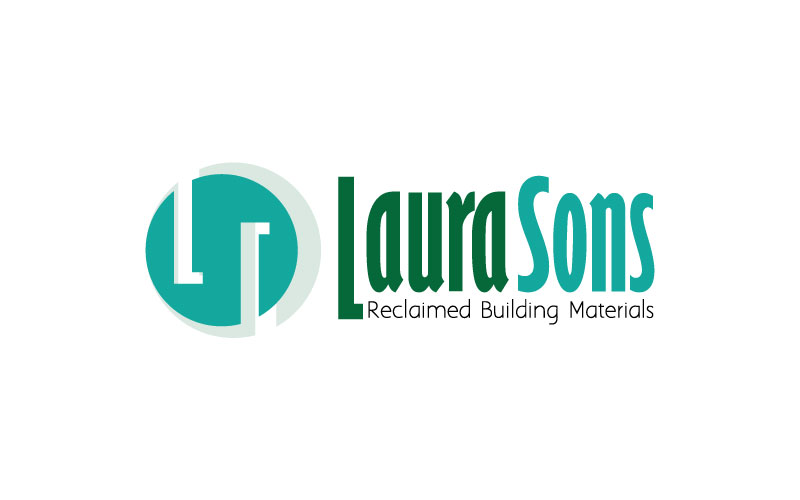 Reclaimed Building Materials Logo Design