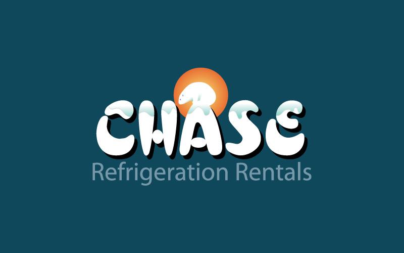 Refrigeration Equipment Rental Logo Design