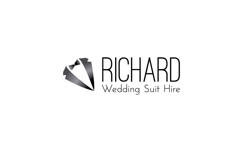 Wedding Suit Hire Logo Design