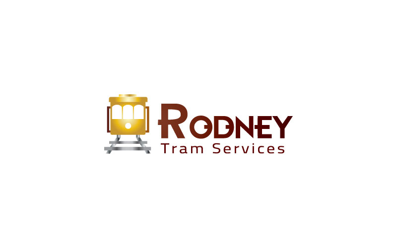 Tram Services Logo Design
