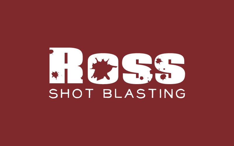 Shot Blasting Logo Design