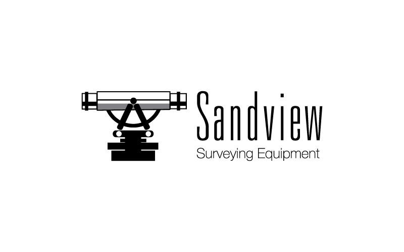 Surveying Equipment Logo Design