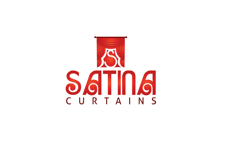 Curtain Fitters Logo Design