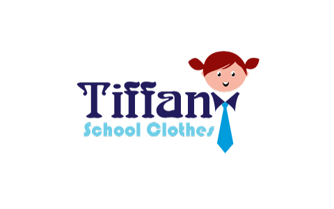 School Clothes Shops Logo Design