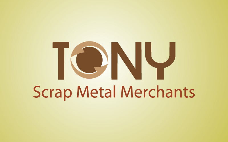 Scrap Metal Recycling Logo Design
