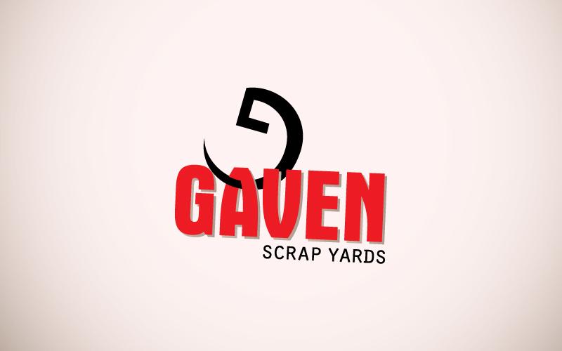 Scrap Yards Logo Design