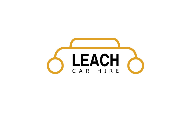 Self Drive Car Hire Logo Design