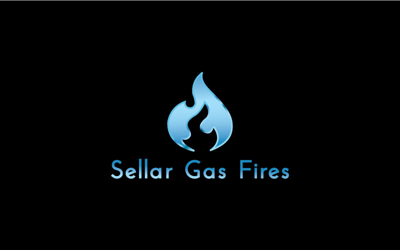Gas Fires Logo Design