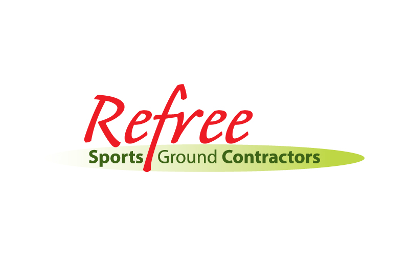 Sports Ground Contractors Logo Design