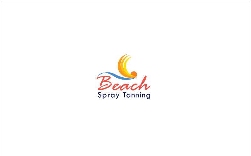 Spray Tanning Logo Design