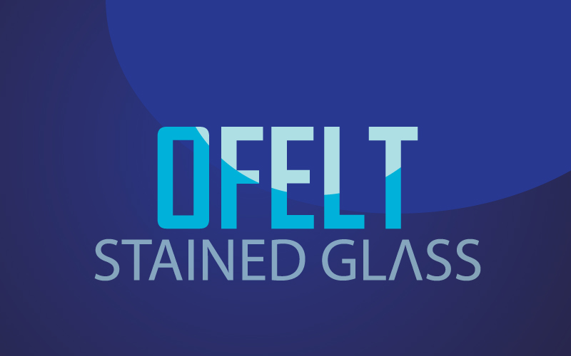 Stained Glass Logo Design