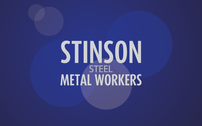 Stainless Steel Metal Workers Logo Design