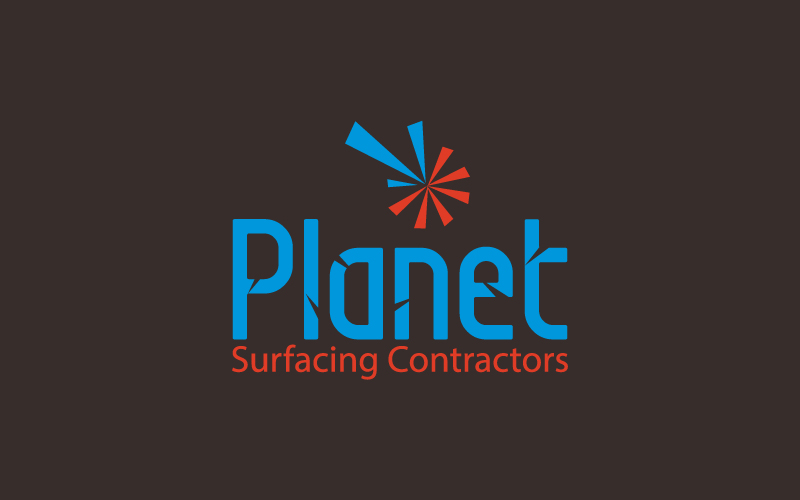 Surfacing Contractors Logo Design