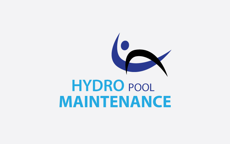 Swimming Pool Maintenance Logo Design