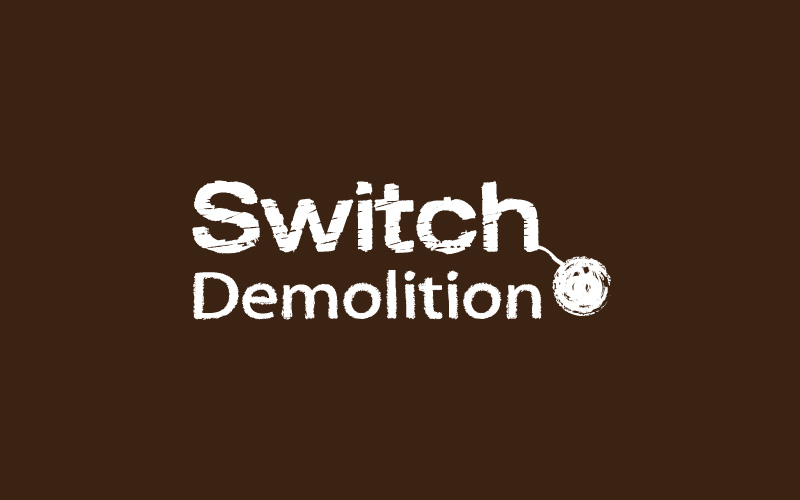Demolition Logo Design