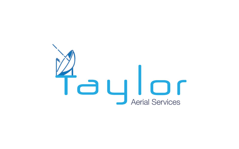 Aerial Services Logo Design