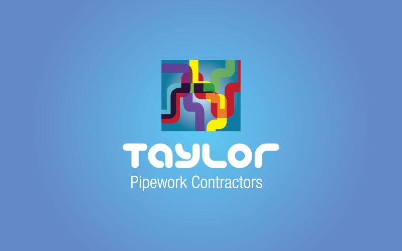 Pipework Contractors Logo Design