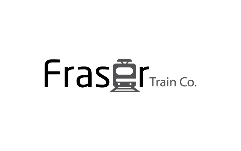 Train Companies Logo Design