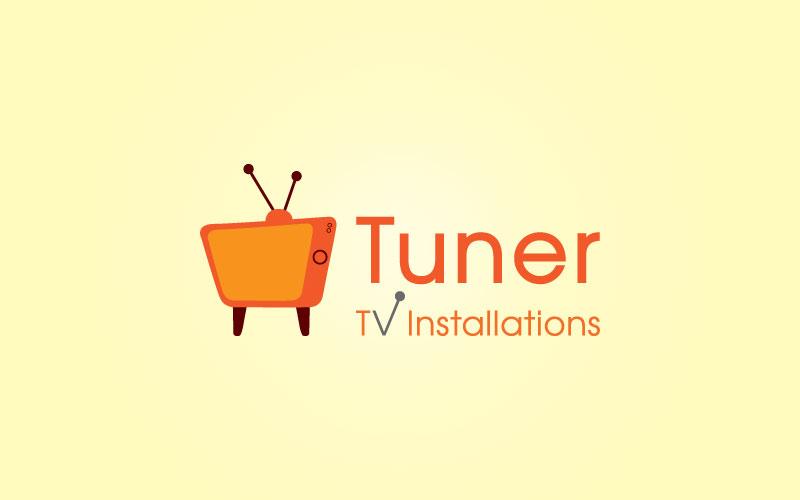 Tv Aerial Instalers Logo Design