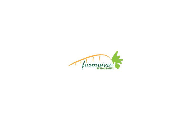 Vegetarian Restaurants Logo Design