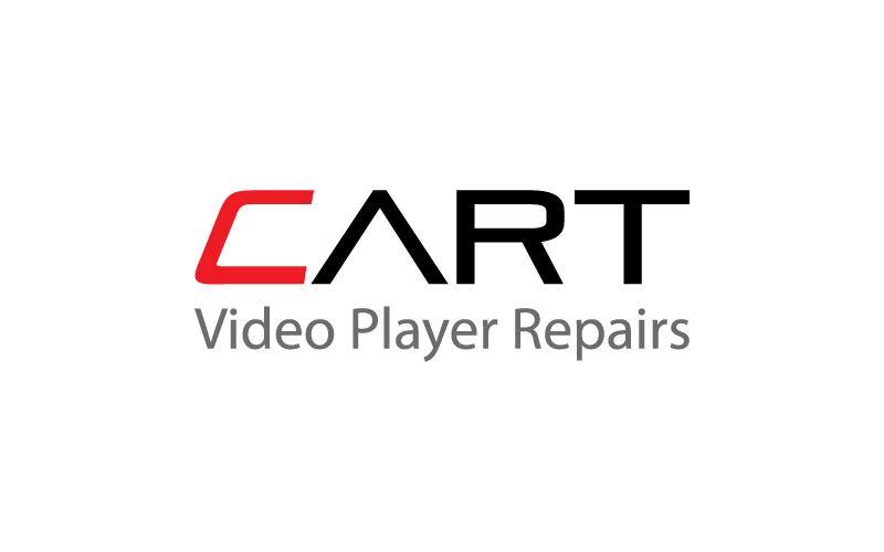 Video Player Repairs Logo Design