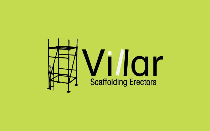 Scaffolding Erectors Logo Design