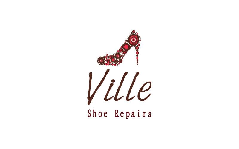 Shoe Repairs Logo Design
