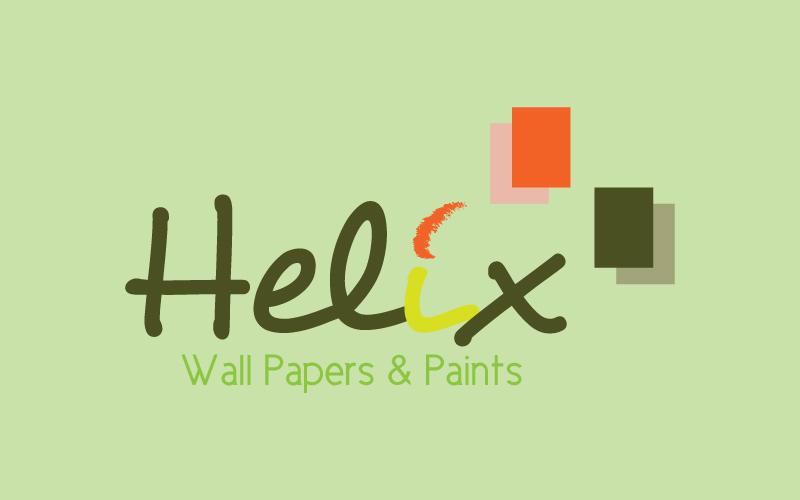 Wallpapers & Paints Logo Design