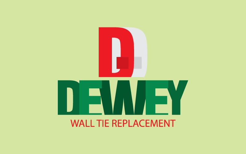 Wall Tie Replacement Logo Design