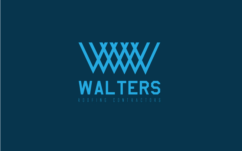 Roofing Conractors Logo Design