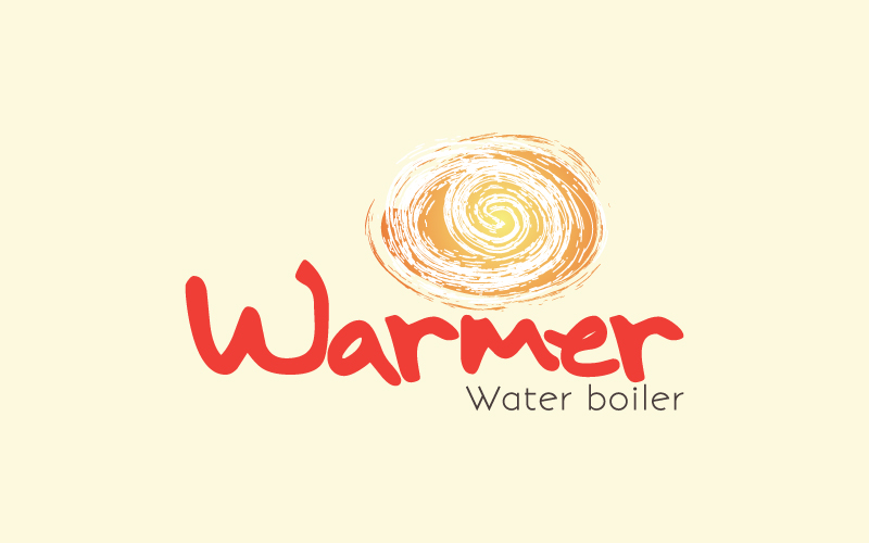 Water Boiler Logo Design