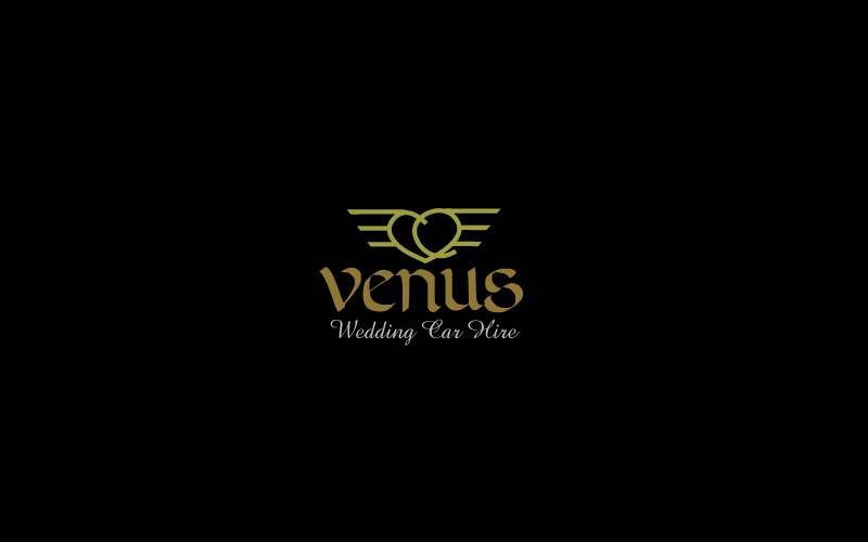Wedding Car Hire Logo Design