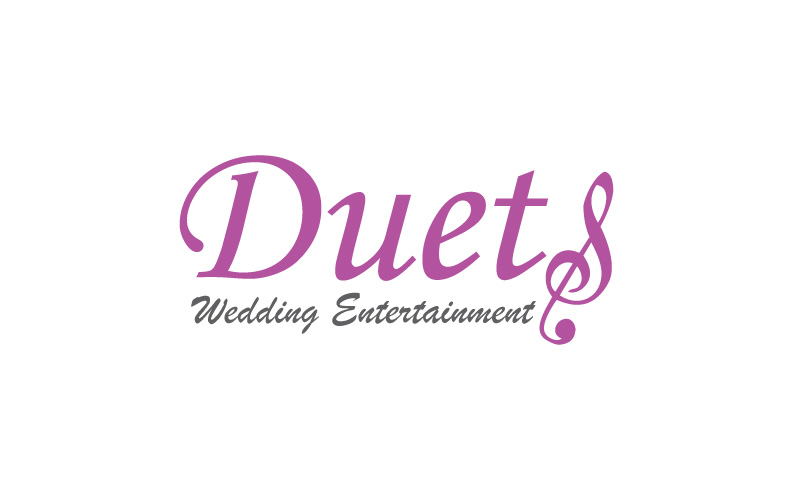 Wedding Entertainment Logo Design