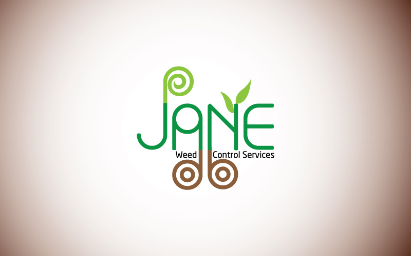 Weed Control Services Logo Design