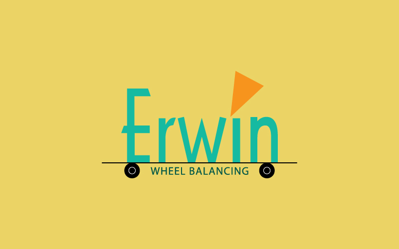 Wheel Balancing Logo Design