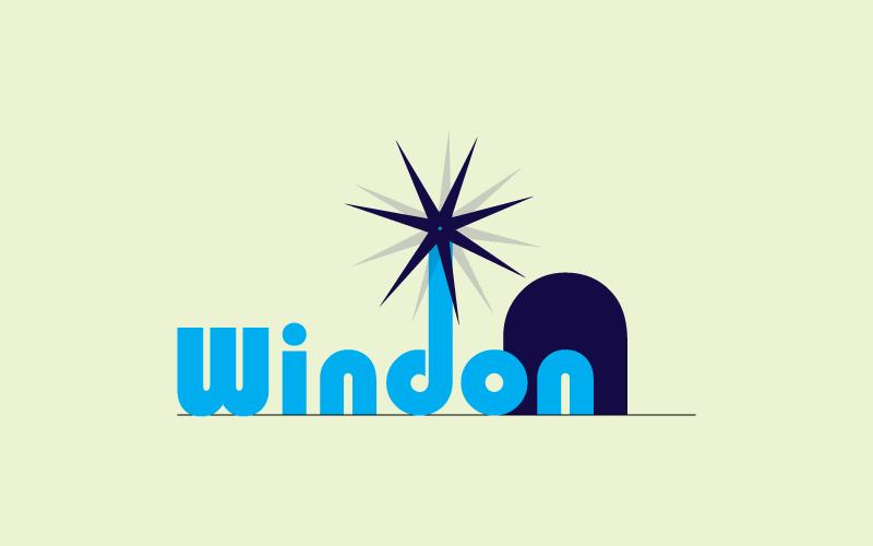 Wind Turbines & Windmills Logo Design